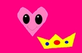 Princess Peach Heart