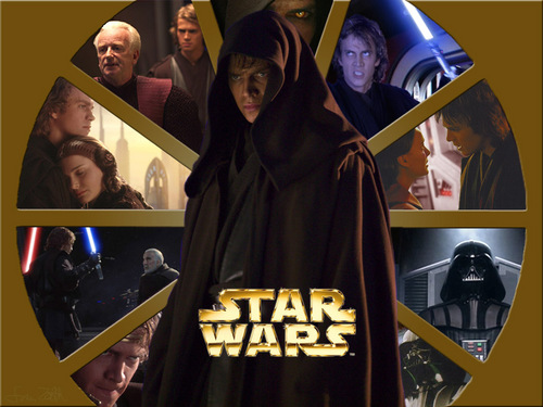 bintang Wars: Revenge of the Sith wallpaper containing an academic gaun entitled ROTS anakin