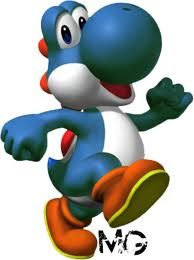 Red, Blue, Green, and Black Yoshi