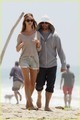 Rosie Huntington-Whiteley & Jason Statham: Seaside Stroll - rosie-huntington-whiteley photo