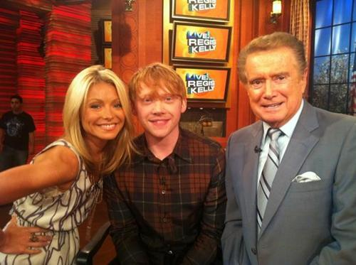 Rupert Grint Regis and Kelly