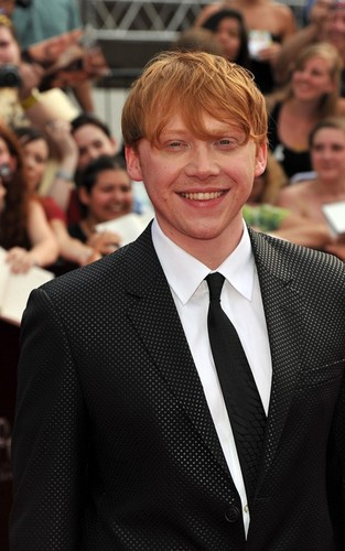 Rupert at the NYC premiere of 'Harry Potter and the Deathly Hallows: Part 2' (July 11).