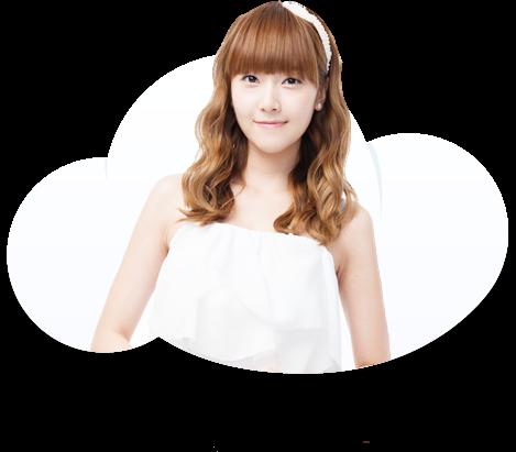 SNSD Jessica Daum nube, nuvola