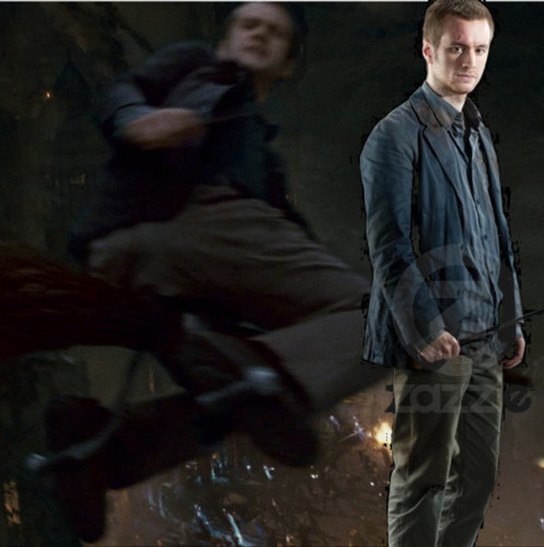 Sean Biggerstaff in Deathly Hallows part II