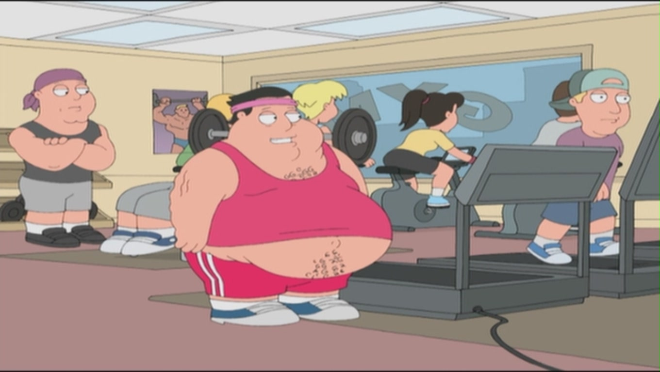 Fat Guys Working Out 100
