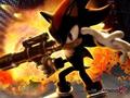 Shadow with a gun - shadow-the-hedgehog photo