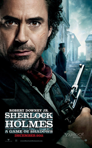 Sherlock Holmes 2 - First Two Official Promo Posters (HQ)
