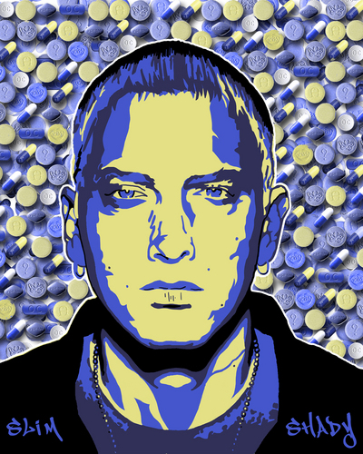 Slim Shady - Purple Pills