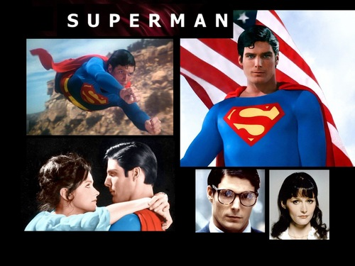 Superman collage desktop