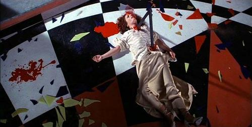 film horror wallpaper possibly with a tepee and a parasol called Suspiria scene