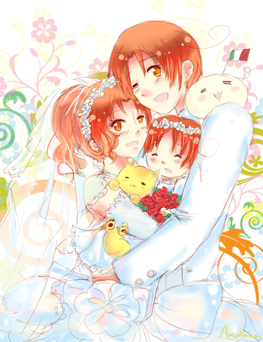 THE ITALYS(literally) - hetalia-italy Photo
