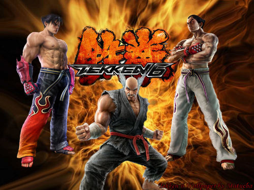 Tekken wallpaper probably with a basketball player and a fire called Tekken Characters