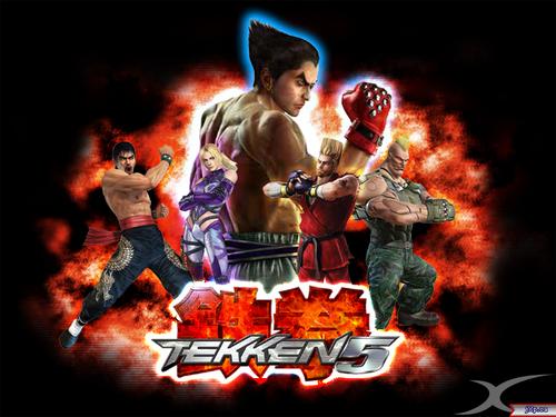 Tekken wallpaper with anime called Tekken Characters