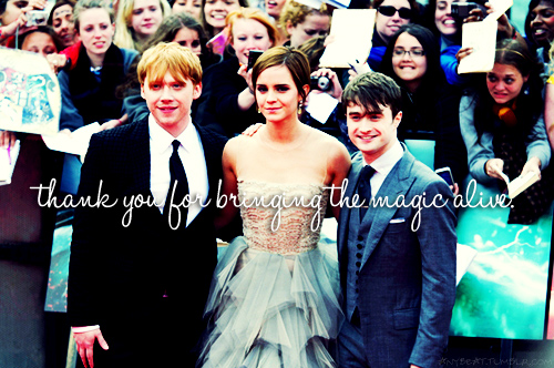 Thank You, Harry Potter