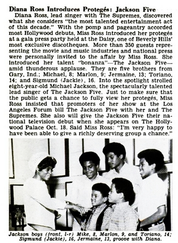 The Jackson 5 Jet 1969