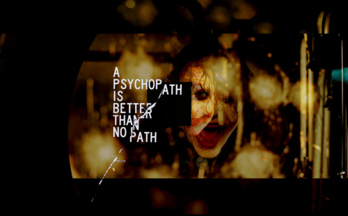The Joker's Path
