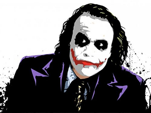 小丑 壁纸 entitled The Joker