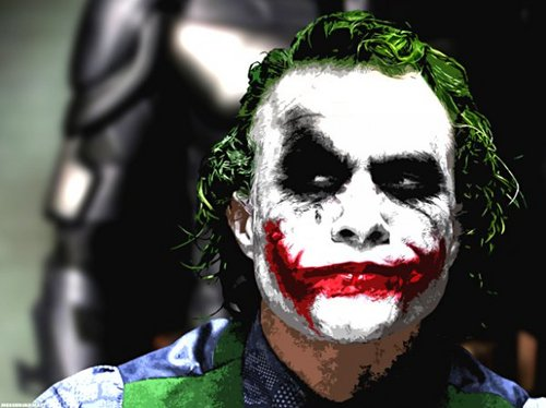 The Joker kertas dinding called The Joker