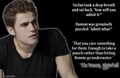 The Return: Nightfall ~ Stefan Salvatore knows.