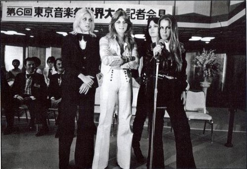 The Runaways in Japan