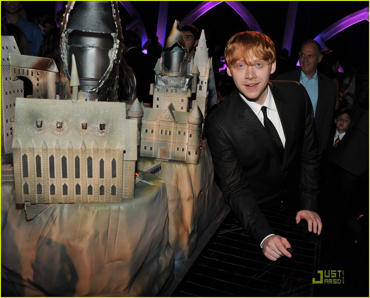 Tom Felton: 'Harry Potter' After Party with Matthew Lewis!