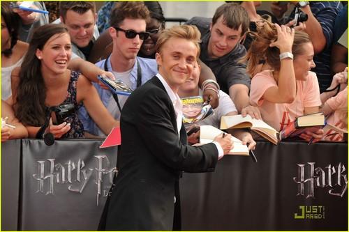Tom Felton Now Laughs at Emma Watson's Crush