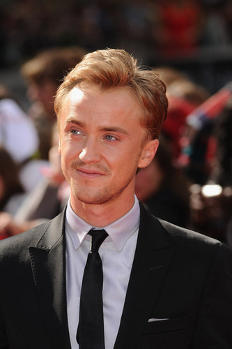 Tom Felton at the Deathly Hallows Part 2 London premiere