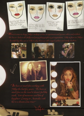 Miley Cyrus Books on Miley Cyrus Tour Book Scans  Hq