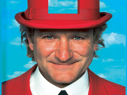 robin williams wallpaper probably with a fedora and a business suit titled Toys