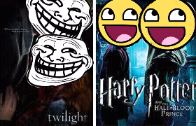 Twilight Trolls Vs. Awesome Potter