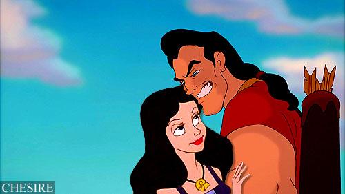 Vanessa and Gaston fondo de pantalla possibly with anime called Vanessa/Gaston