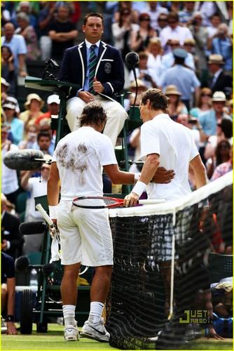 Rafael Nadal wallpaper entitled Wimbledon 2010 sexy ass and Rafa show !!!