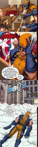 Wolverine gets punched out sa pamamagitan ng an eleven taon old girl