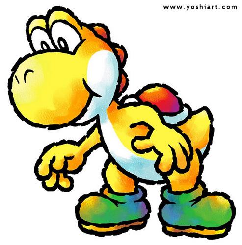 Yellow Yoshi :P
