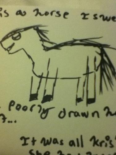 Your horse kris