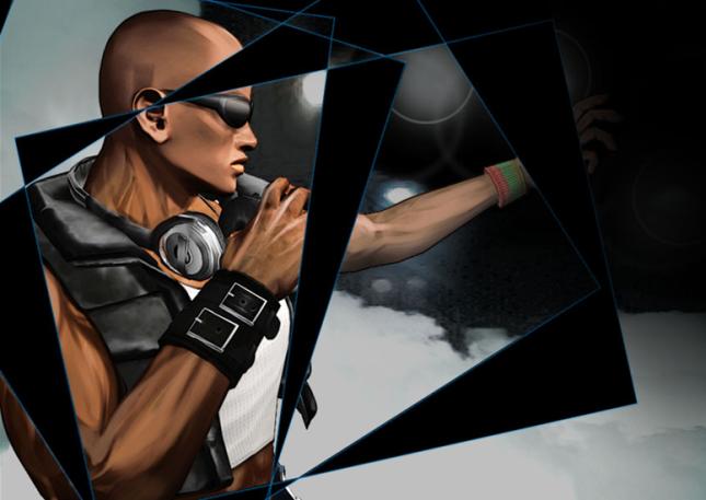 Zack - Dead au Alive: Dmensions - karatasi la kupamba ukuta