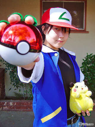 pokemon cosplay images ash cosplay wallpaper and background photos  sc 1 st  Fanpop & pokemon cosplay images ash cosplay wallpaper and background photos ...