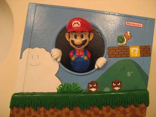 Nintendo Wii karatasi la kupamba ukuta called cool looking wiis