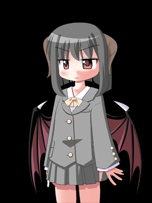 evil girl(caracter created por me)