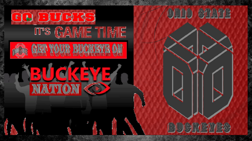 Ohio State Buckeyes wallpaper containing anime titled go bucks it's game time