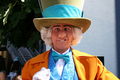 grasshopper hatter - disneyland photo