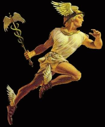 hermes God of alchemy, athletes,treavelers, thieves, and messanger of the gods