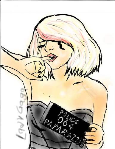 lady gaga Фан art