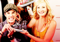 michael&candice;  - tyler-and-caroline photo