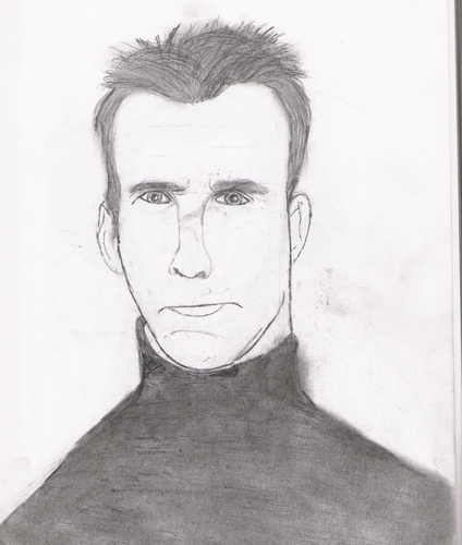 my sketch of Cameron Mathison.