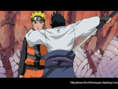 Naruto meet sasuke n see the nine tail volpe