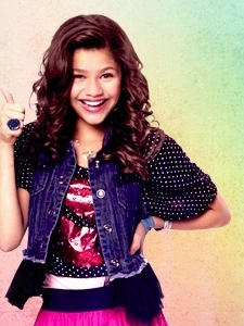 Zendaya Coleman wallpaper probably with a frock entitled rocky blue