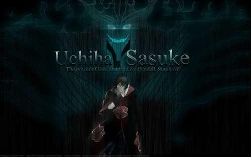 sasuke chidori 壁紙