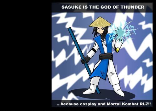 sasuke god of thunder