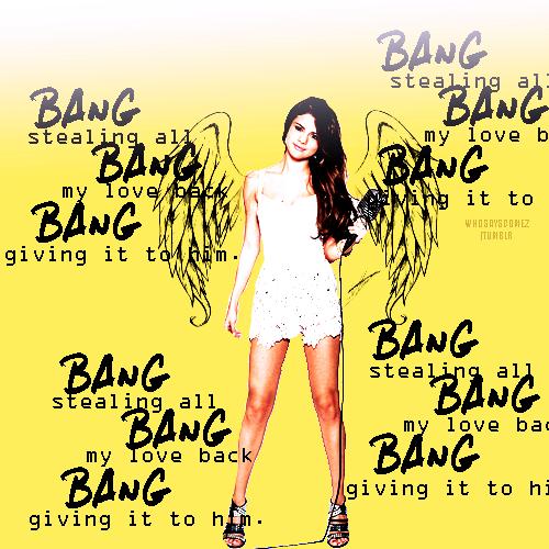 selena gomez bang bang bang